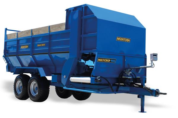 Beater Wagon McIntosh Farm Machinery